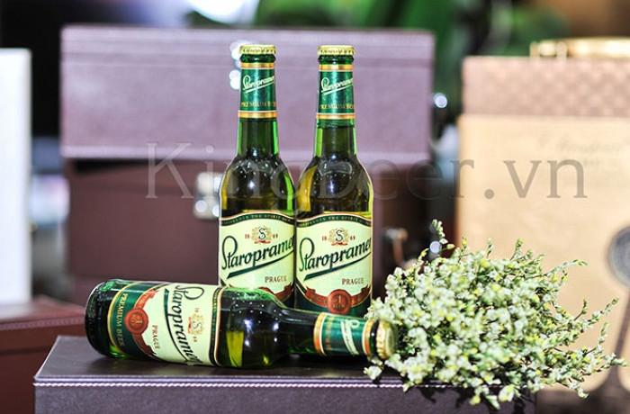 Bia Tiệp Staropramen Premium chai 330ml