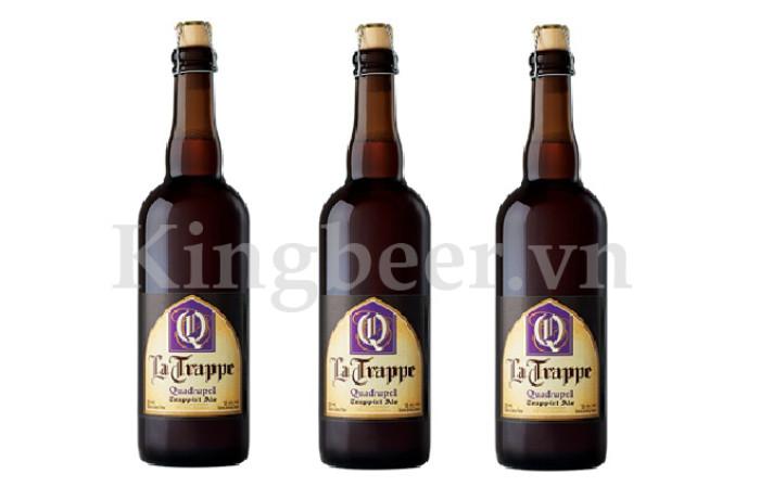 Bia Thầy Tu La Trappe Quadrupel 750ml