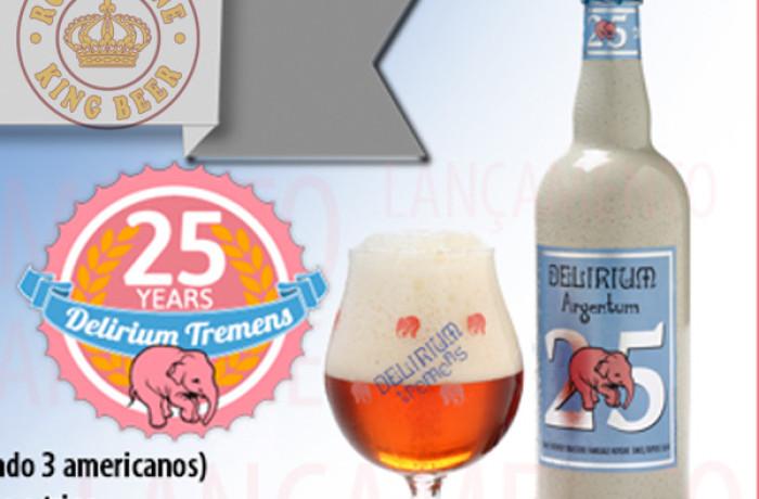 Bia Bỉ Delirium Argentum chai 330ml
