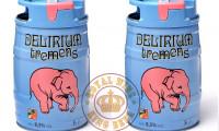 Bia bom Delirium Tremens 5 lít chính hãng