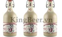 Bia Đức Schorsch Weizen chai sứ 13%