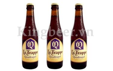 Bia Thầy Tu La Trappe Quadrupel