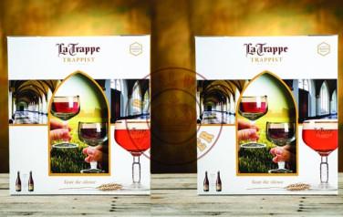 Hộp Quà tặng Bia La Trappe chai 750ml
