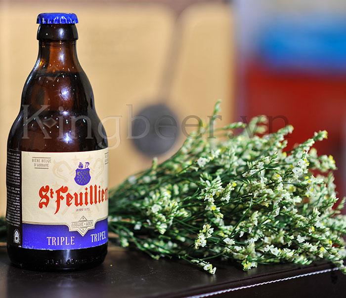 Bia Bỉ St-Feuillien Triple 330ml