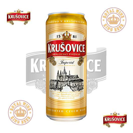 Bia Tiệp lon Krusovice