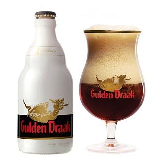 Giá bán: 95.000VNĐ - Bia Bỉ Gulden Draak 330ml - Bia rồng vàng