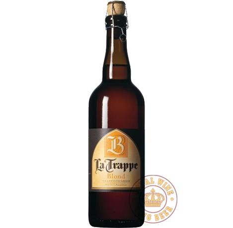 Bia thầy tu La Trappe Blond 750ml