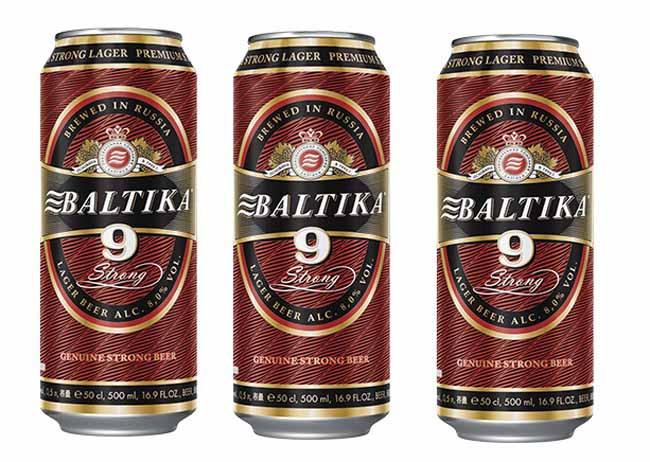 Bia Baltika 9 bia Nga nhập khẩu