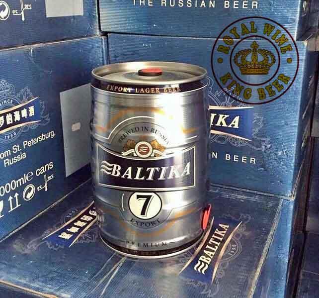 Bia Bom Baltika 5 lít số 7