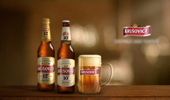 Bia Krusovice – Bia của Hoàng Gia