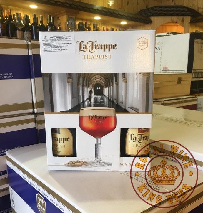 Quà tặng bia La Trappe ảnh thực tế tại cửa hàng