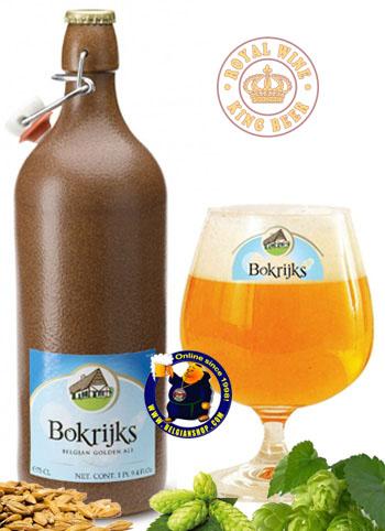 Bia sứ Bỉ Bokrijks belgian golden ale