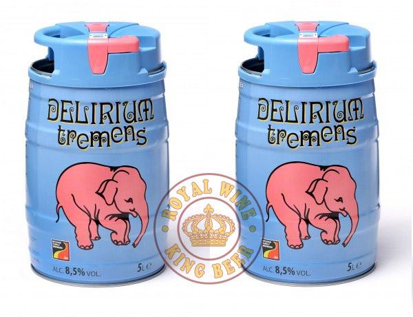 Bia delirium tremens 5 Lít