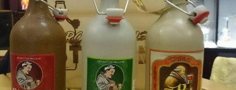 Bia bỉ st paul triple giá bán 210000 VNĐ Chai