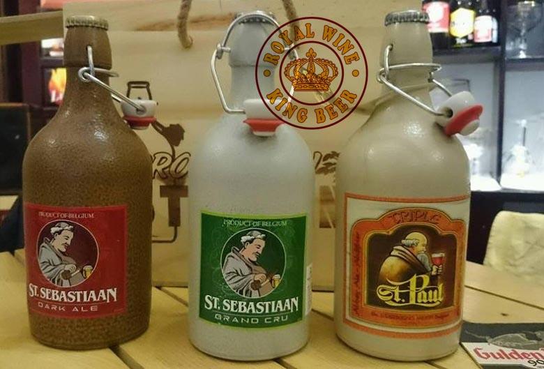 Bia st paul triple nhập khẩu chính hãng giá bán 210K