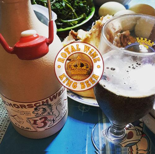 Bia sứ 13% SchorschWeizen 13 độ 0,5 Lít