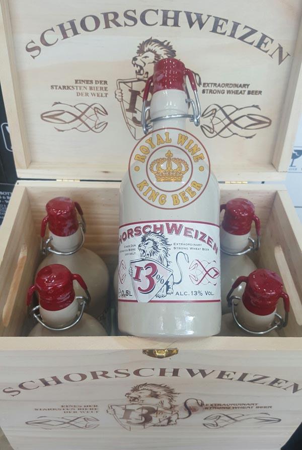 Bia sứ SchorschWeizen cao cấp của Đức