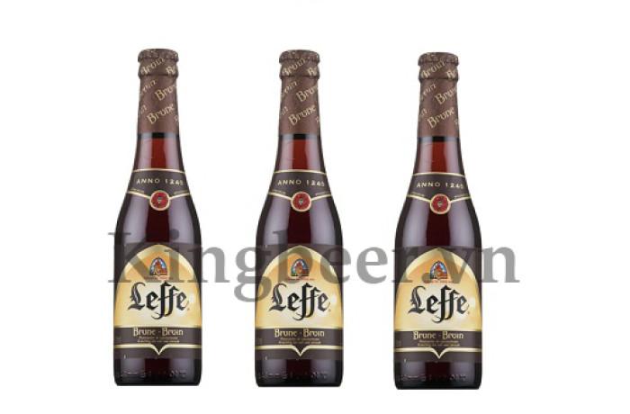 Bia Bỉ Leffe Nâu vàng Brown 330ml