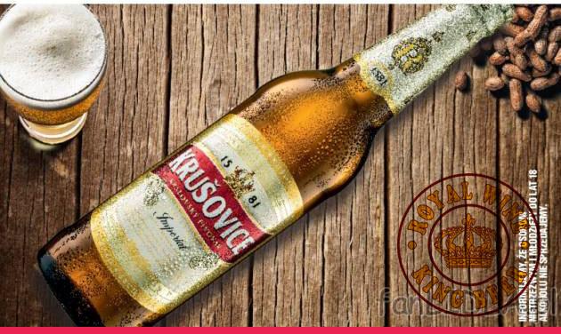 Bia Krusovice của Tiệp giá bán rẻ nhất uống ngon