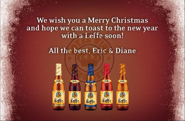 Tu viện Leffe làm ra chai bia Giáng sinh giá tốt