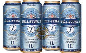 Bia Baltika 7 1 lit